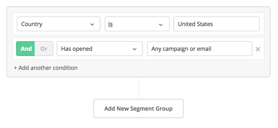 ActiveCampaign List Segmentation