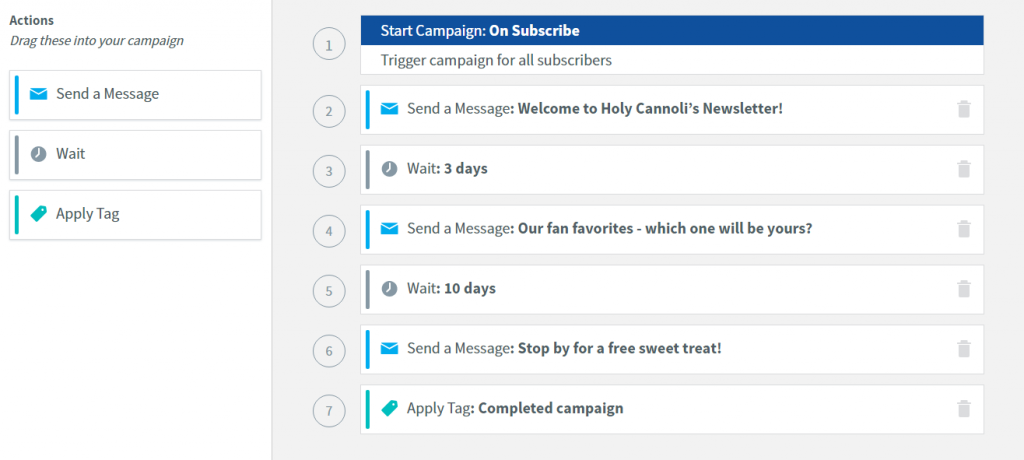 Aweber Campaign Automation
