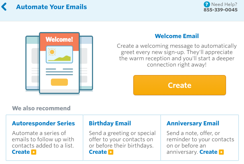 Constant Contact Email Automation