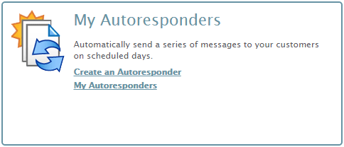 iContact Autoresponders